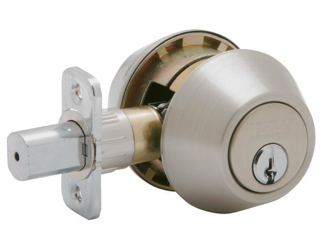 Schlage JD62V630 Satin Stainless Steel Double Cylinder Deadbolt