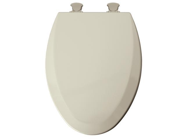 Mayfair 146ECDG-346 Biscuit Elongated Easy Clean Toilet Seat