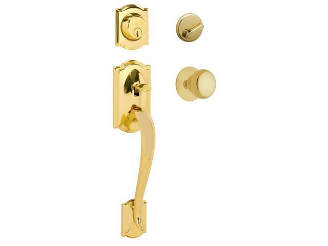 Schlage F60VCAM505PLY Maximum Security Handleset