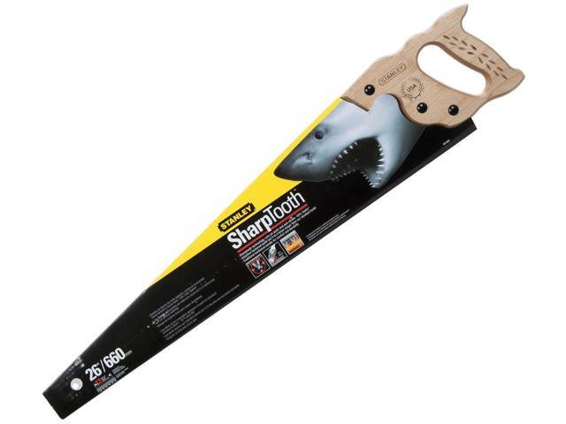 "Stanley Hand Tools 20-065 26"" 12 TPI SharpTooth™ Hand Saw"