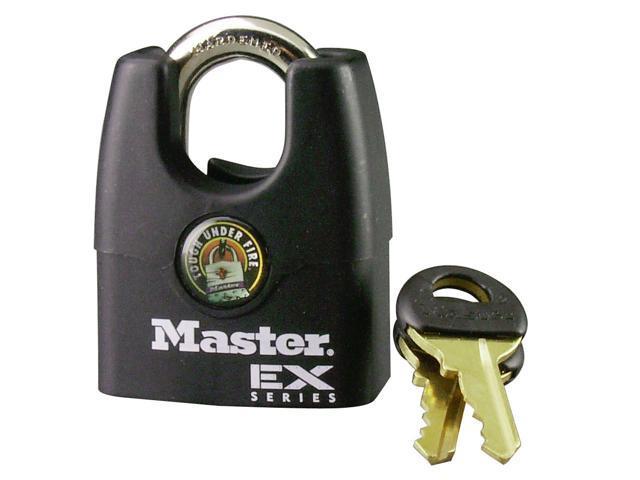 "Master Lock 1DEX 1-3/4"" EX Series™ Shrouded Padlock"