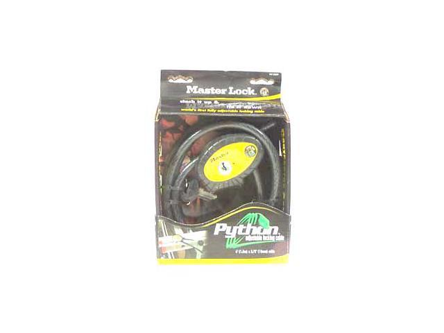 Master Lock 8413XDPF 6' Python™ Adjustable Padlock & Cable
