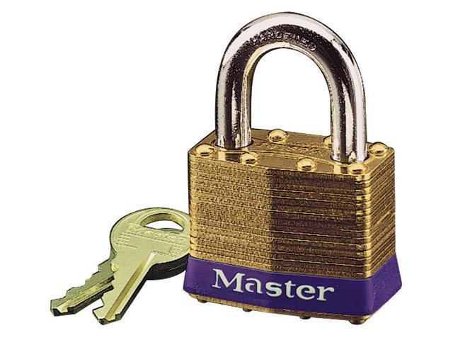 Master Lock 2D No. 2 Brass Padlock