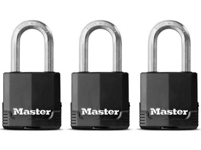 Master Lock M115XTRILFHC 3 Count 1-1/2