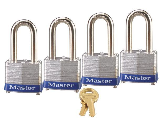 Master Lock 3QLF Laminated Steel Padlock