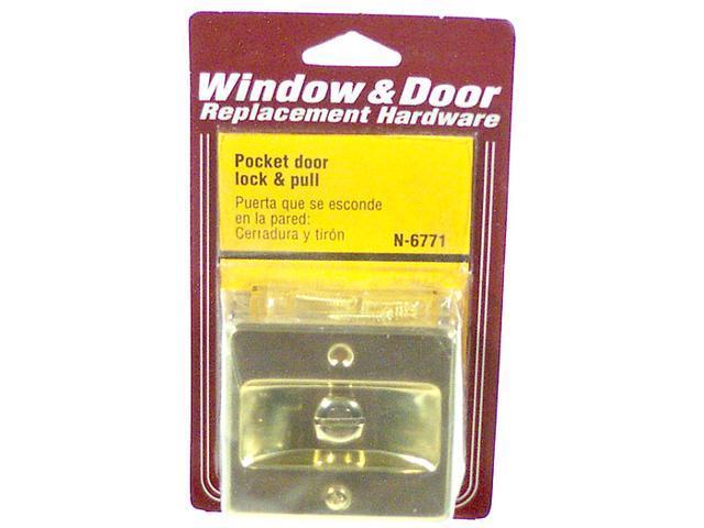 Prime Line N6771 Pocket Door Lock & Pull