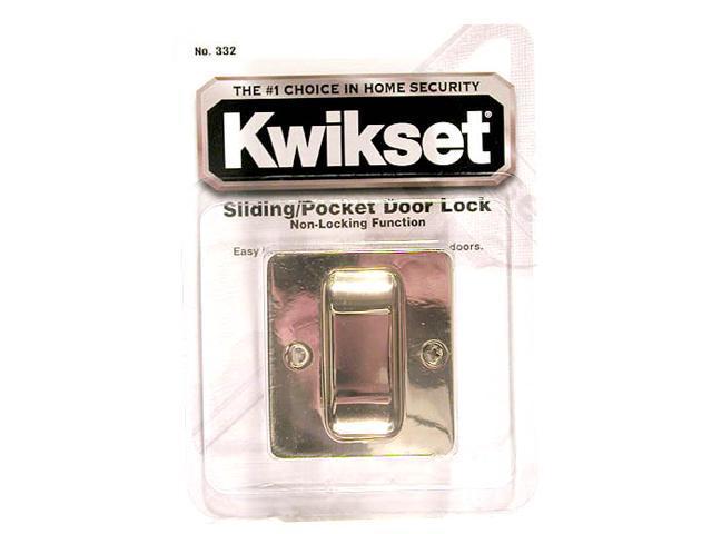 KWIKSET CORPORATION Pocket Door Pull
