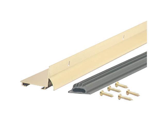 """M-D BUILDING PRODUCTS 36"""" Bright Gold Aluminum Door Bottom Drip Cap"""