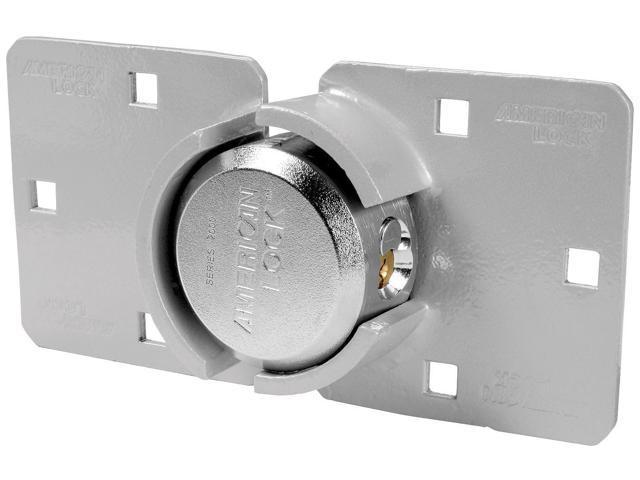 "American Lock A800LHCD 2-7/8"" High Security Hasp Shackle Lock"