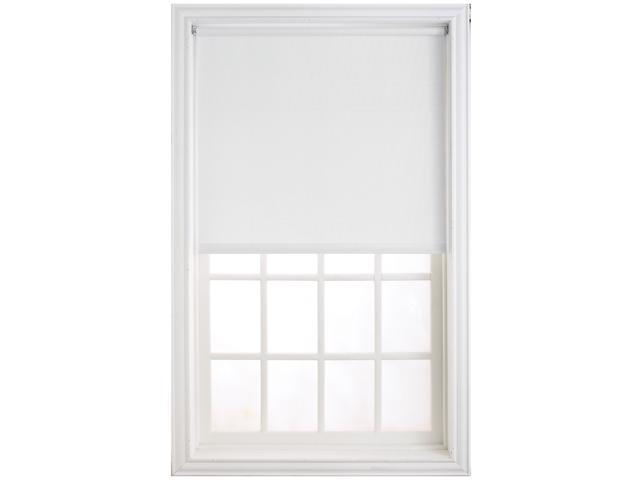 "Levolor HRSMWF7306601D 73"" X 66"" White Window Shade"