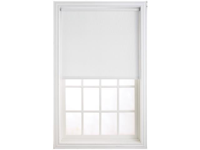 "Levolor HRSHWD7306601D 73"" X 66"" White Window Shade"