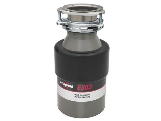 Insinkerator Evergrind E303 5/8 HP Garbage Disposer