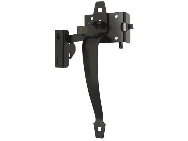 Lockable Thumb Latch Black Coated Stanley Hardware Gate