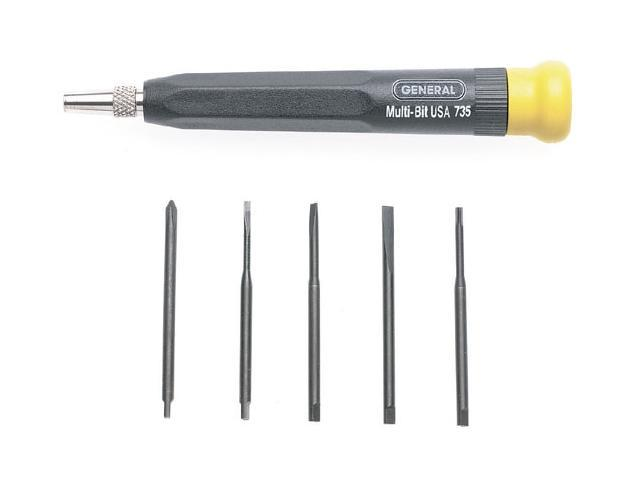 GENERAL TOOLS 5-In-1 Mutli-Blade Precision Screwdriver