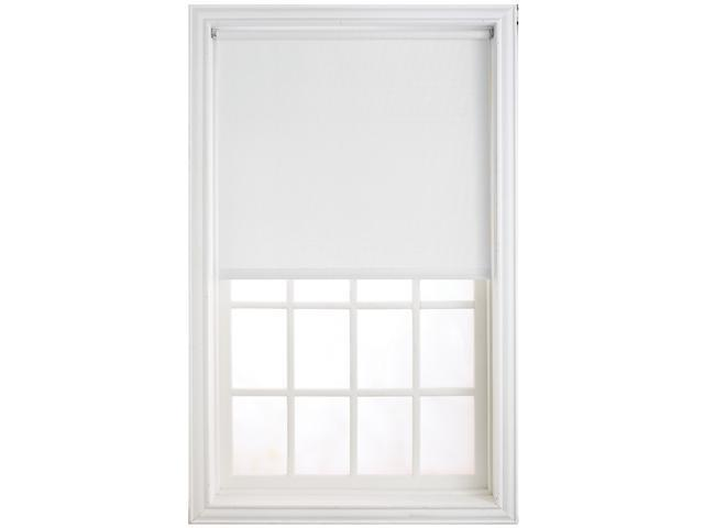 "Levolor HRSMWF4606601D 46"" X 66"" White Window Shade"