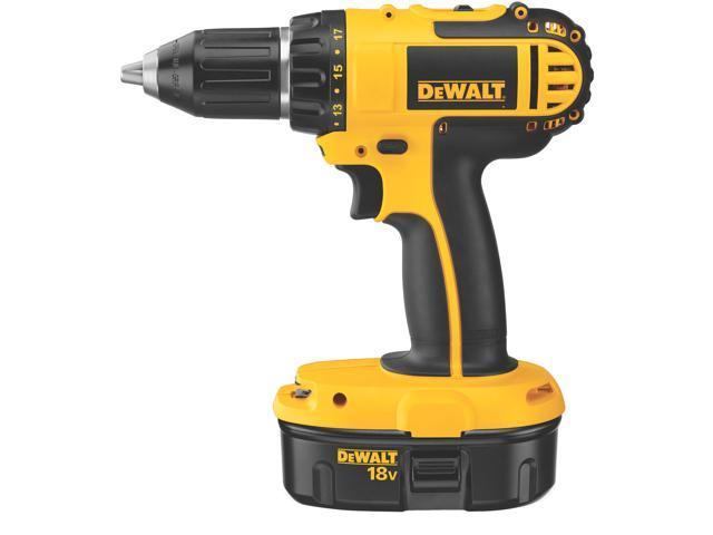 Dewalt DC720KA 18 Volt Cordless Drill Driver Kit