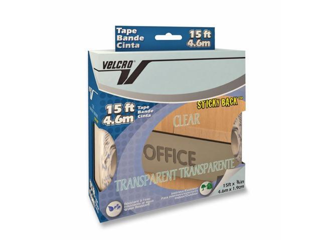 Velcro 91325 15' Clear Sticky Back™ Transparent Tape