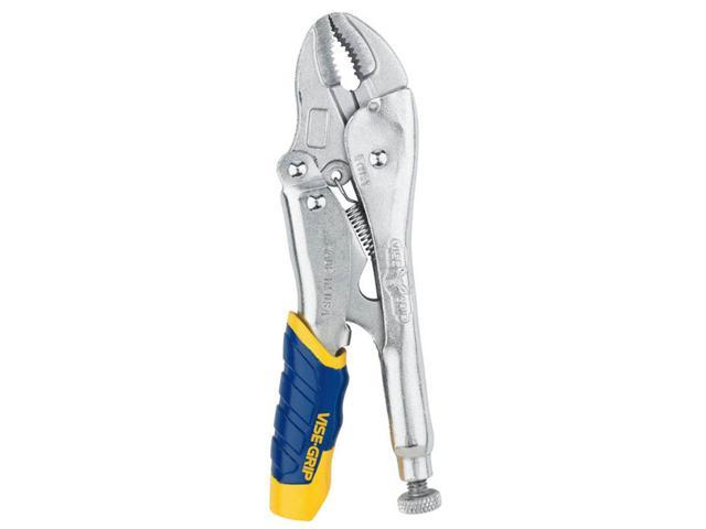 "Irwin Vise Grip 05T 10"" Fast Release™ Curved Jaw Locking Plier"
