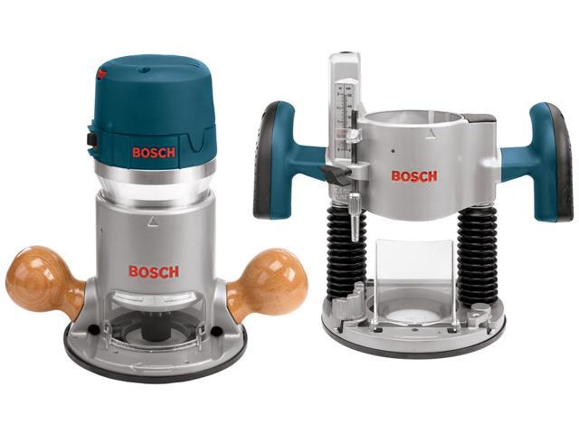 Bosch Power Tools 1617EVSPK 2.25 HP Combination Plunge & Fixed-Base Electronic Router