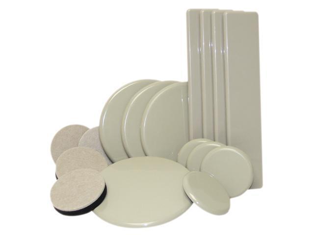 Waxman Consumer Group 4712995NB 16 Count Super Sliders® Furniture Sliders Moving Kit