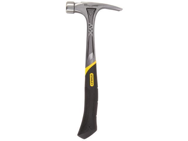 """Stanley Hand Tools 51-162 16 Oz 13-1/2"""" FatMax® AntiVibe® Curve Claw Hammer"""