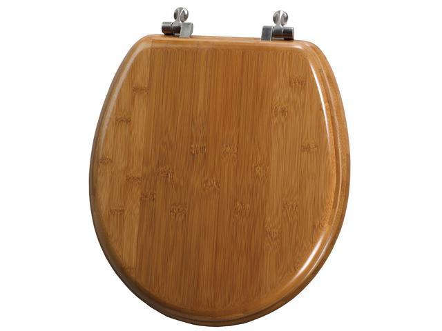 Mayfair 9401NI 568 Bamboo Round Toilet Seat