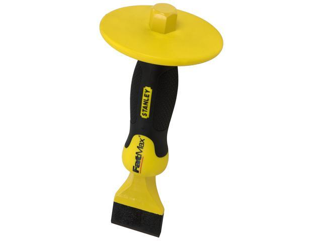 """Stanley Hand Tools 16-334 2-3/4"""" FatMax® Mason's Chisel With Bi-Material Hand Guard"""