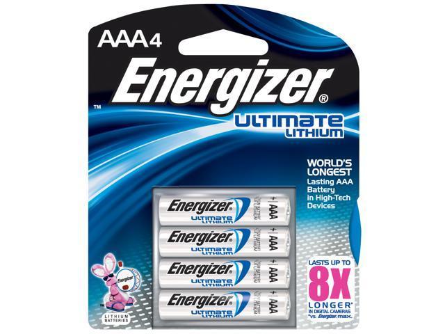 ENERGIZER                                E2® AAA Lithium Batteries