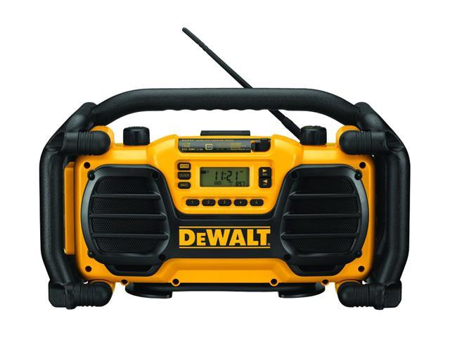 B & D DEWALT POWER TOOLS 9.6 To 18 Volt Charger & Radio