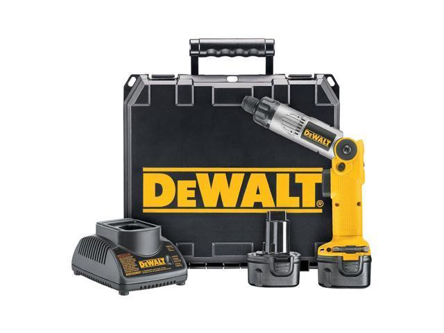 Dewalt DW920K-2 7.2 Volt Heavy-Duty Cordless 2-Position Screwdriver Kit