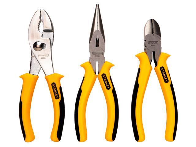 Stanley Hand Tools 84-056 3 Piece Heavy Duty Combination Pliers