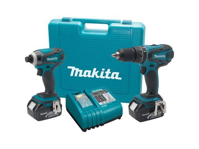 Makita LXT211 2 Piece 18 Volt LXT Lithium Combo Kit