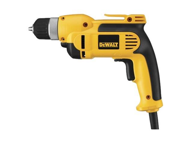 "Dewalt DWD110K 3/8"" Heavy Duty VSR Pistol Grip Drill Kit With Keyless Chuck"