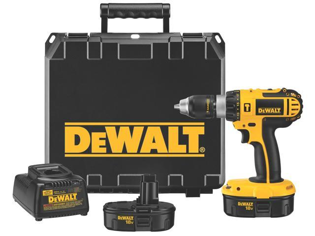 Dewalt DC725KA 18 Volt Compact Hammerdrill Kit