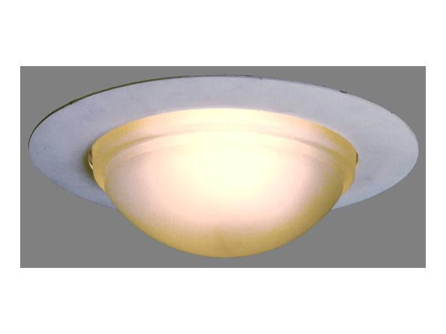 Cooper Lighting Yellow Drop Opal Recessed Light Fixture Shower Trim