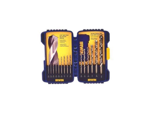 Irwin Tools                              15 Piece Cobalt Drill Bits