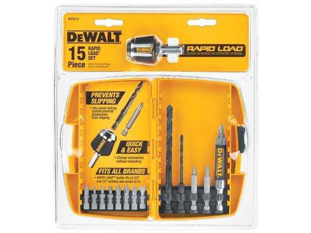 Dewalt DW2513 15 Piece Rapid Load Power Bit Set