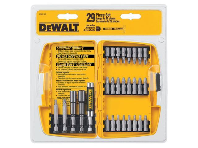 Dewalt DW2162 29 Piece Screwdriving Set With Tough Case™