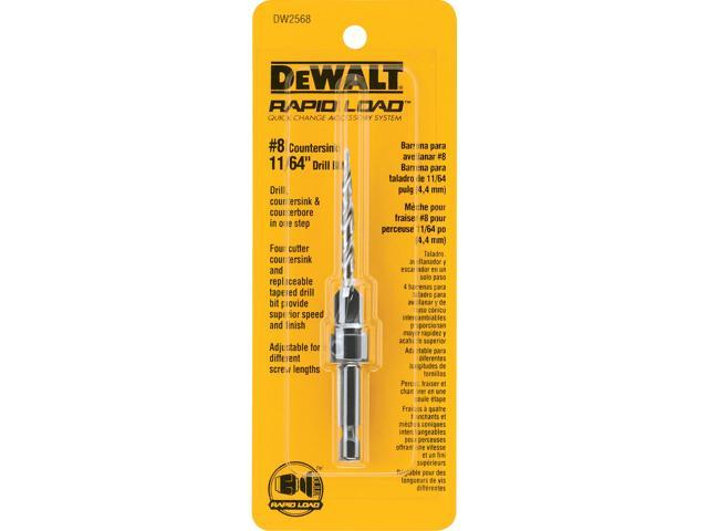 "B & D DEWALT POWER TOOLS #8 Countersink With 11/64""  Drill Bit"