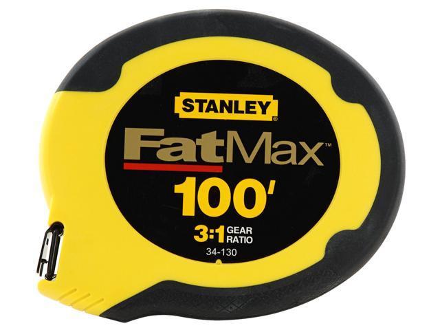 Stanley Hand Tools 34-130 100' FatMax® Long Tape Measure Reel