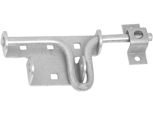 STANLEY NATIONAL HARDWARE Mechanically Galvanized Heavy Duty Slide Action Gate Bolt