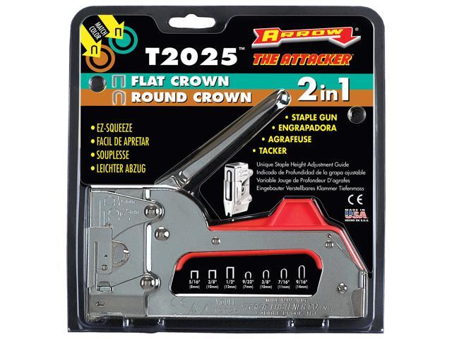 Arrow Fastener T2025-6 Dual Purpose The Attacker™ Staple Gun Tacker