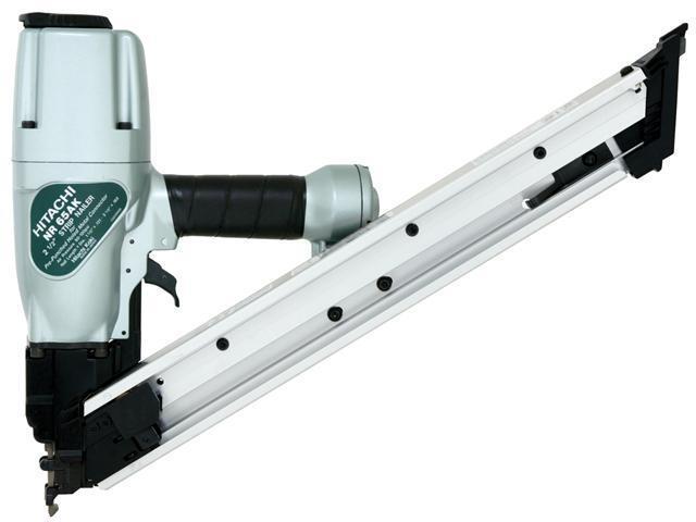 "Hitachi Power Tools NR65AK 2-1/2"" Strip & Metal Connector Nailer"