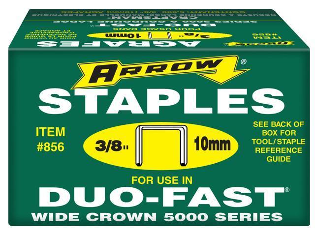 Arrow Fastener 856 5,000 Count 3/8