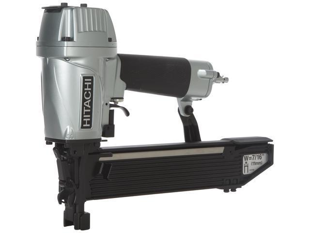 "Hitachi Power Tools N5008AC2 7/16"" Crown Standard Construction Stapler"