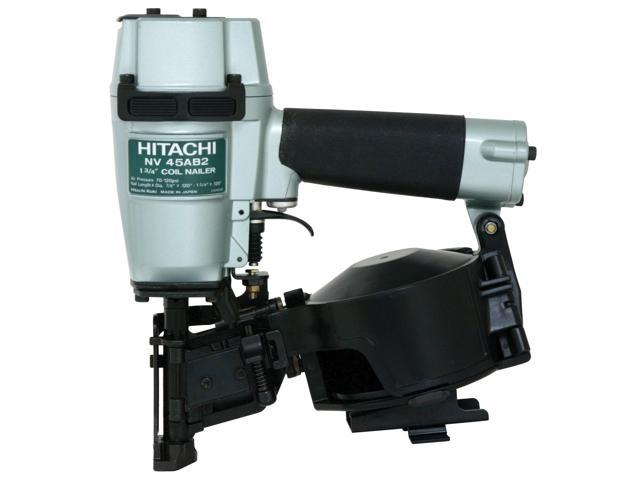 "Hitachi Power Tools NV45AB2 1-3/4"" Coil & Roofing Nailer"