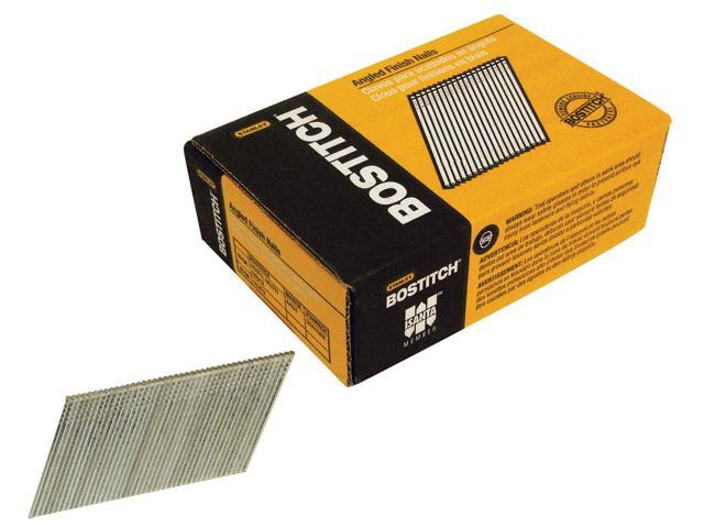 """Bostitch Stanley FN1536 3,655 Count 2-1/4"""" 15 Gauge Angled Finish Nails"""