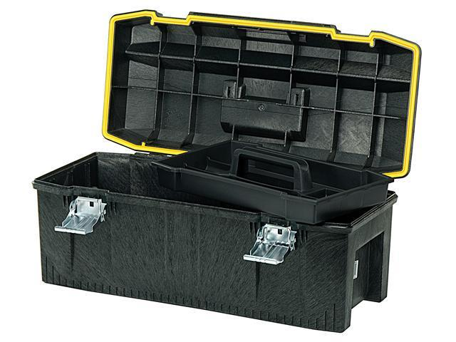 "Stanley Storage 028001L 28"" Structural Foam Water Resistant Toolbox"