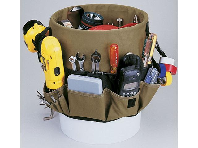 Custom Leather Craft                     48 Pocket Bucket Pockets