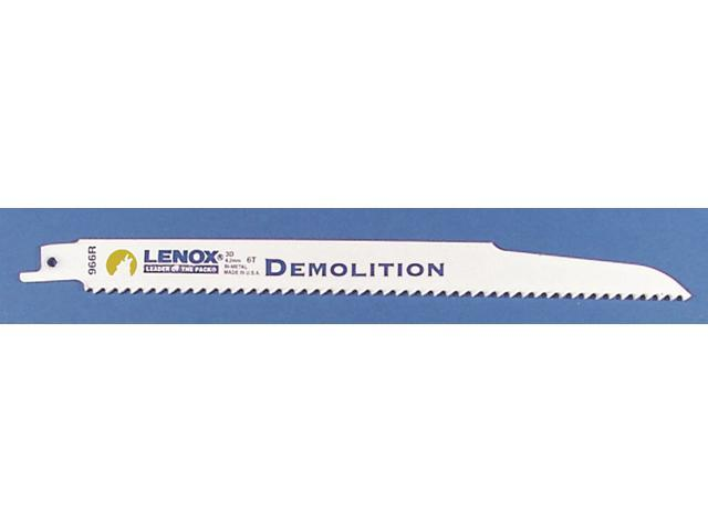 "Lenox 20598-966R 9"" Demolition Fire & Rescue Reciprocating Blade"